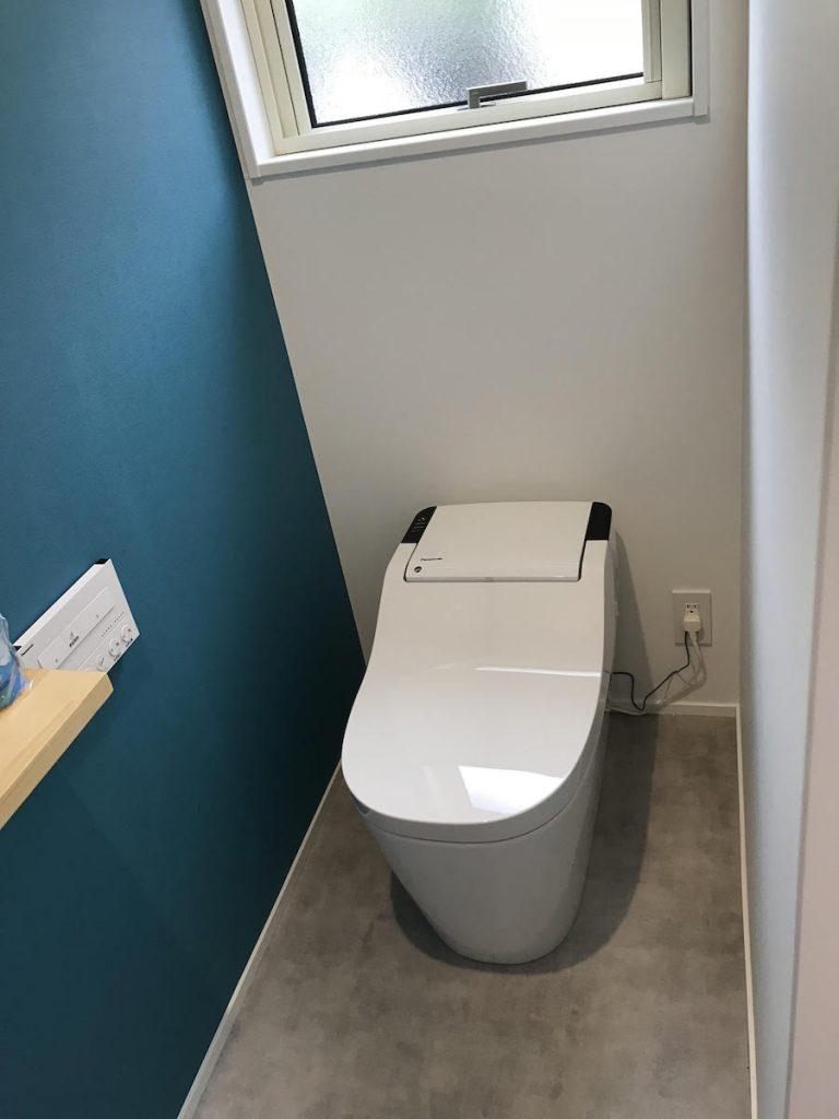 トイレ施工後|大分市高崎O様邸 リノベーション施工事例|リフォネ大分