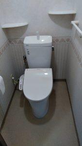 施工後 大分市横尾T様邸トイレ交換リフォーム工事 リフォネ大分