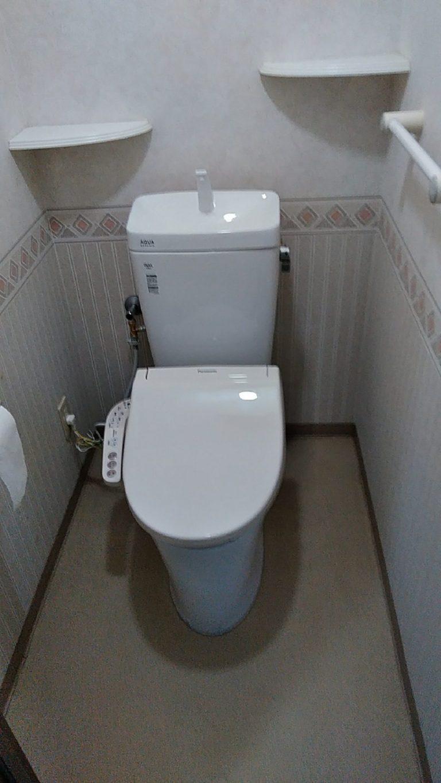 大分市横尾 T様邸 洗面化粧台・トイレリフォーム工事