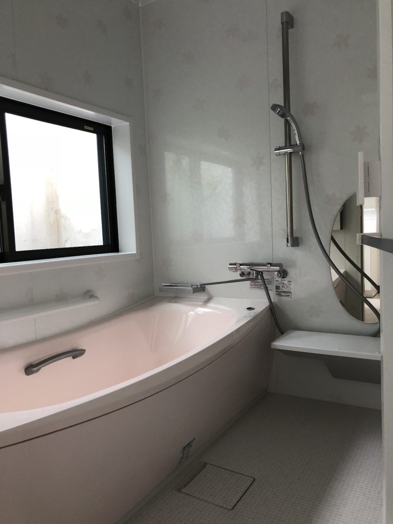 大分市岩田町 O様邸 浴室・洗面脱衣室リフォーム