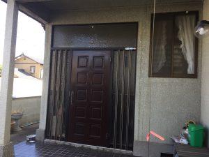 リフォーム前|大分市明野 T様邸 玄関ドア入替リフォーム工事|リフォネ大分