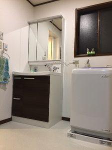 リフォーム後|大分市けやき台 M様邸 洗面室リフォーム工事|リフォネ大分