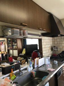 キッチンリフォーム前|大分市明野高尾O様邸 水回りリフォーム改修工事|リフォネ大分