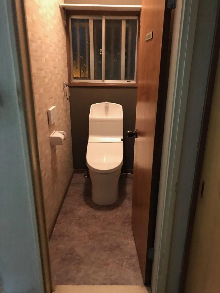 大分市ふじが丘S様邸 トイレ改修工事