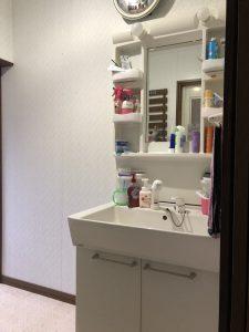 施工前|豊後大野市W様邸 水回りリフォーム洗面化粧台工事|リフォネ大分施工事例