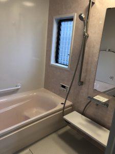 施工後 大分市明野東I様邸 浴室リフォーム・給湯器交換工事 リフォネ大分