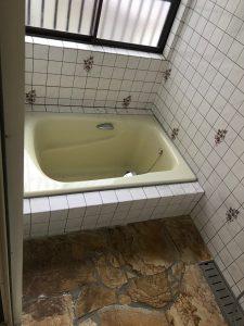 施工前|大分市上田町K様邸 浴室リフォーム工事