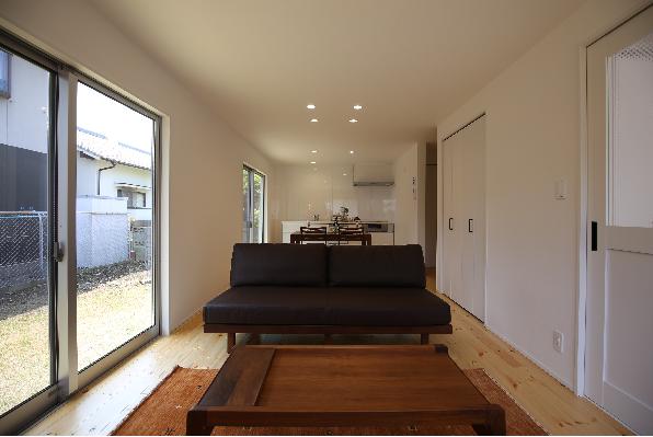 LDK 家具イメージ|大分市富士見ヶ丘 平屋リノベーション物件 オープンハウス