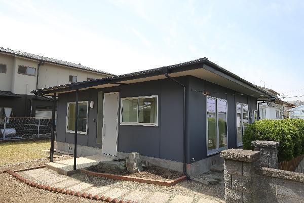 外観|大分市富士見ヶ丘 平屋リノベーション物件 オープンハウス