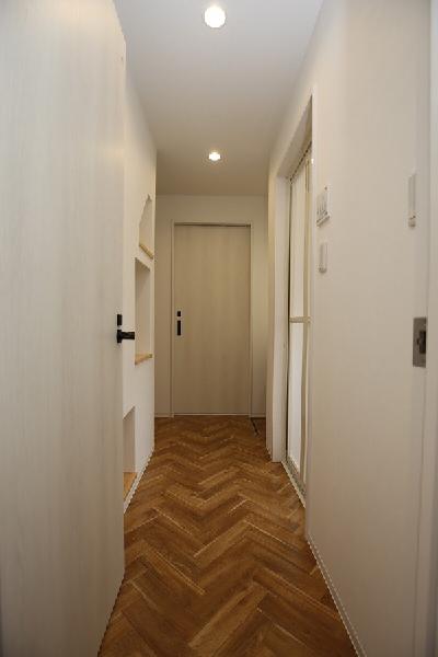 廊下・ニッチ|大分市緑が丘リノベーション物件オープンハウス