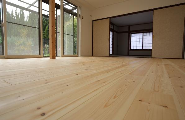 床材|大分市緑が丘リノベーション物件オープンハウス