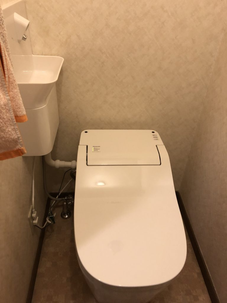 大分市S様邸 トイレ改修リフォーム工事