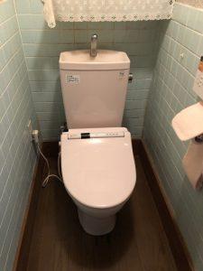 大分市中戸次Y様邸 トイレ改修リフォーム工事 施工前|大分市のリフォネ大分