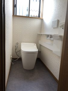 リフォーム後 大分市M様邸トイレ改修リフォーム工事 リフォネ大分施工事例