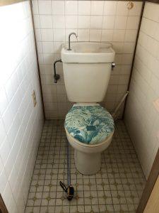 トイレリフォーム前|別府市Y様邸水回り改修リフォーム工事|リフォネ大分施工事例