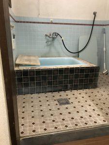 豊後大野市H様邸 浴室改修リフォーム工事|施工前