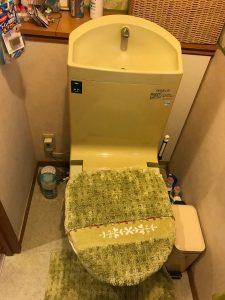 大分市S様邸 トイレ改修リフォーム工事|施工前