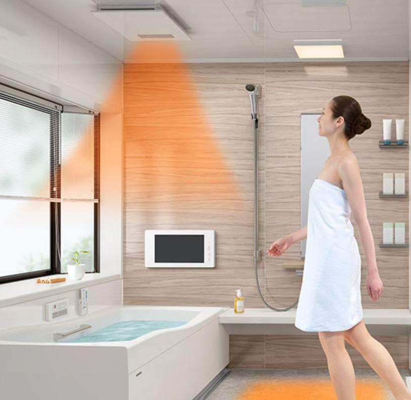 リフォネ大分| ユニットバスの浴室暖房のイメージ画像
