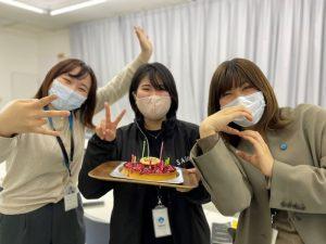 誕生日の時の写真②|リフォネ大分スタッフブログ