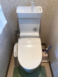 大分市大在 トイレ改修工事後 U様邸|大分市のリフォーム店リフォネ大分