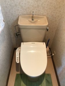 大分市大在 トイレ改修工事前 U様邸|大分市のリフォーム店リフォネ大分