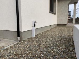 外壁塗装 基礎ガード施工前 施工事例2