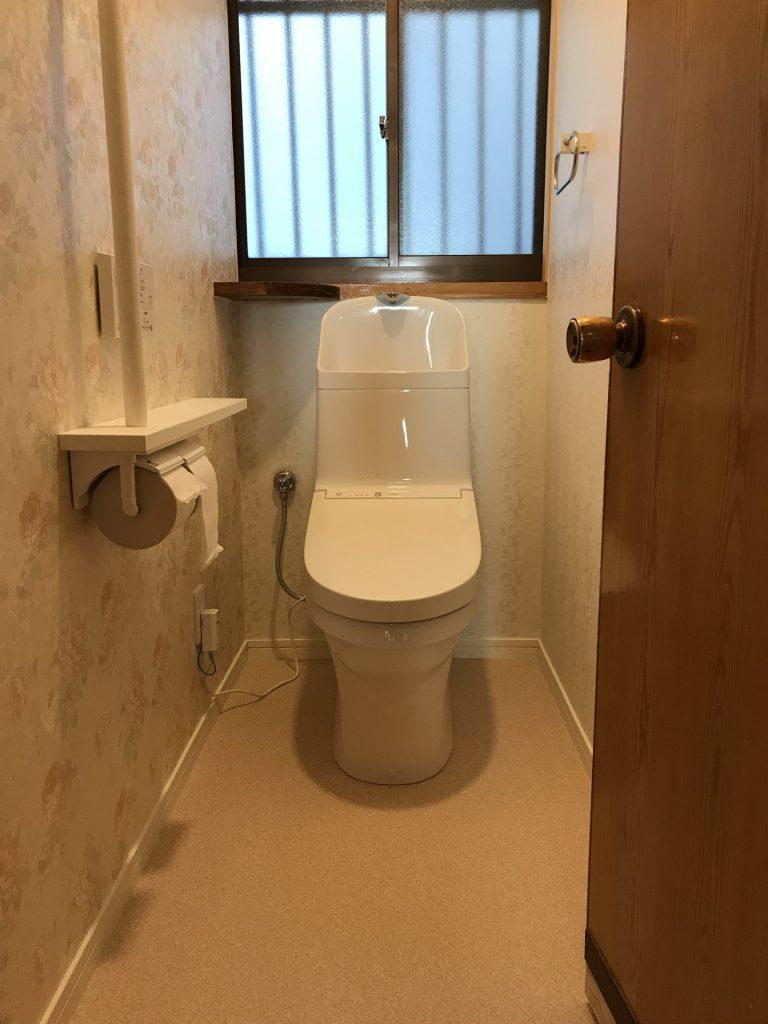 大分市O様邸トイレ 改修工事施工事例 リフォーム後