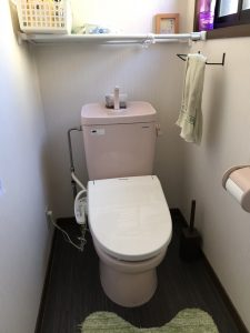 大分市A様邸トイレ改修工事 リフォーム前|大分のリフォーム店リフォネ大分