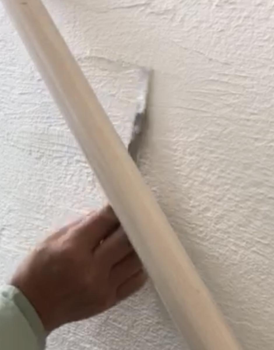 漆喰の補修2
