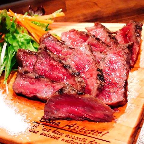 HOMEさんの和牛ステーキ