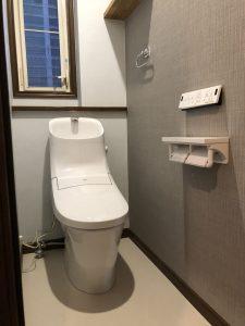 大分市A様邸トイレ改修工事 工事後
