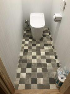 大分市T様邸 トイレ改修工事 リフォーム後