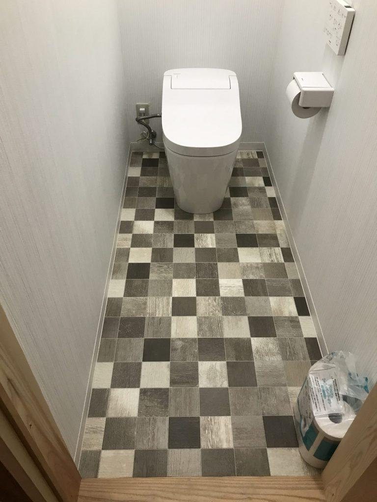 大分市 トイレ改修工事 T様邸