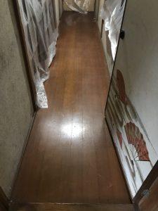大分市T様邸での廊下改修工事のリフォーム施工事例|リフォーム前