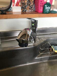 大分市H様邸 キッチン水栓改修工事 交換後