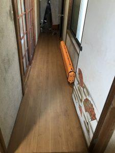 大分市T様邸での廊下改修工事のリフォーム施工事例|リフォーム後