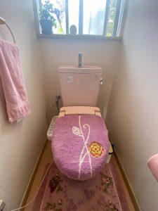 大分市トイレ改修工事 A様邸|リフォーム前