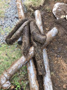 大分市O様邸での排水管改修工事の施工事例2 工事前