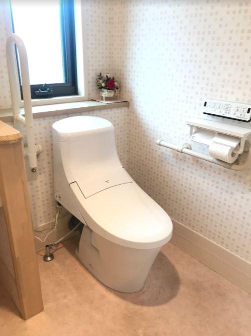 大分市S様邸トイレ改修工事<br />お手入れのしやすい、すっきりとしたトイレに