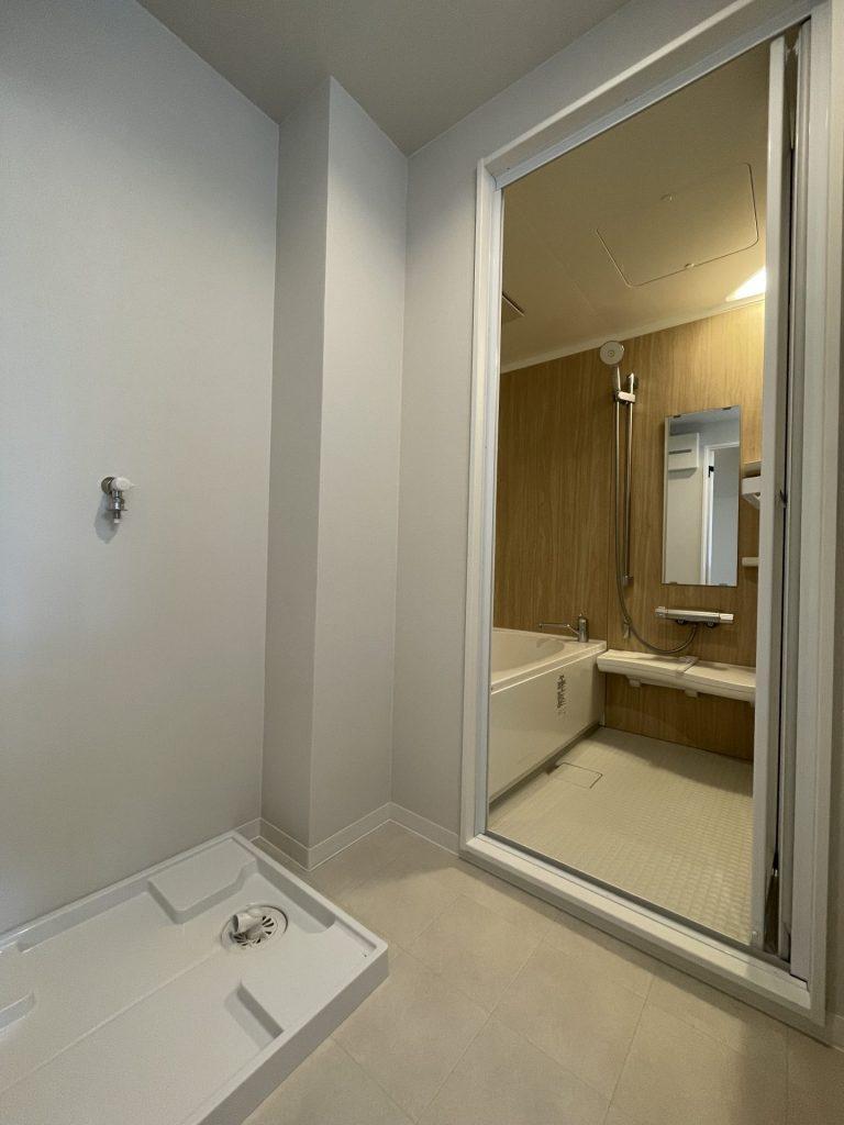 マンションリノベーション物件~お風呂編~<br />お掃除しやすく、温かいお風呂に