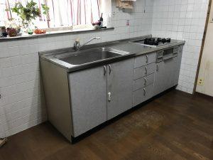 大分市Y様邸でのキッチン改修工事のリフォーム施工事例 リフォーム前