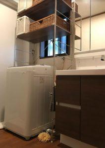 大分市T様邸 洗面室改修工事 窓・洗濯機パンリフォーム後