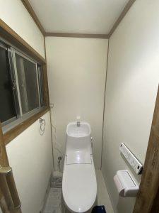 豊後大野市H様邸 トイレ改修工事 リフォーム後